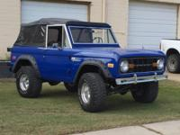 Restored 1972 Bronco SportThis classic Bronco started