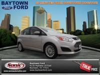 This silver 2013 Ford C-MAX Hybrid SE is a keeper.