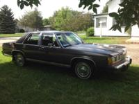 This 1988 Crown Victoria runs GREAT! It has LOW MILEAGE