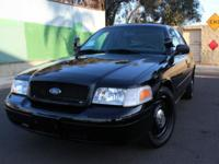 2007 Ford Crown Victoria Police Interceptor, EX CHP