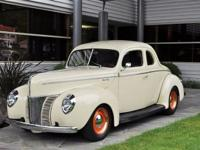 1940 Ford Deluxe Coupe Hot Rod VIN: 185674952 Once seen