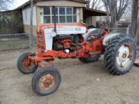 GREAT RUNNING 50 H.P. 4 CYL FORD DIESEL TRACTOR, MOD