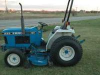 1520 Diesel hydrostatic drive, 23 horse power, 4 wheel