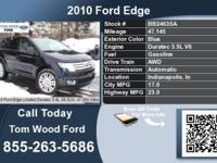 Call Tom Wood Ford at  Stock #: BB24635A Year: 2010