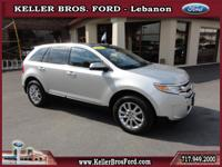 JUST IN! 1-Owner Ford Certified Limited Edge with