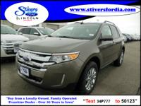 Great buy on this vehicle....2013 Ford Edge SEL.