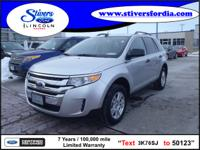 Hurry, this 2011 Ford Edge SE won't last long!!! When