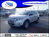 Great buy on this vehicle....2012 Ford Edge SE. When