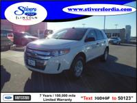 Must see this 2012 Ford Edge SE!!! Want your family
