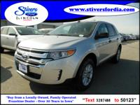 Hurry, this 2013 Ford Edge SE FWD won't last long!!!
