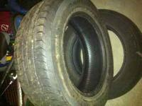 I have 2 tires that came off my ford edge. They have