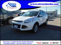 Great buy on this vehicle....2013 Ford Escape SEL. Want