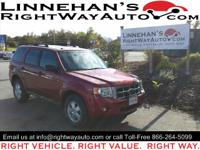 Here's a very nice 2010 Ford Escape XLT. It comes with
