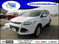 Must see this 2013 Ford Escape SE!!! Bring your