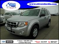 Must see this 2010 Ford Escape XLT!!! This one comes