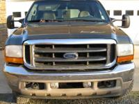 2001 Ford Excursion 4x4 ? V10, automatic, 167000 miles.