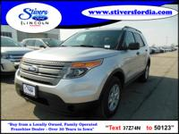 Great buy on this vehicle....2013 Ford Explorer 4X4.