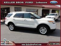 JUST IN! 1-Owner Ford Certified Explorer XLT 4x4 with