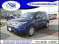 Great buy on this vehicle....2013 Ford Explorer FWD.