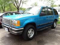 Options Included: 4 Wheel Drive, Wheels - Aluminum,
