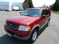 for sale is a 2002 Ford Explorer XLT Sport Utility