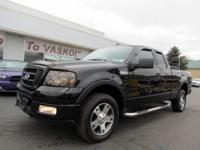This nicely equipped 2004 Ford F-150 FX4 Model has some