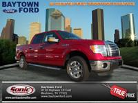 Check out this 2012 Ford F-150 XLT. This vehicle scored