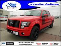 Hurry, this 2012 Ford F-150 FX4 Offrd won't last