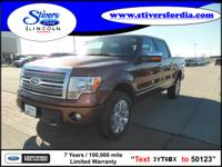 Must see this 2012 Ford F-150 Platinum!!! This one