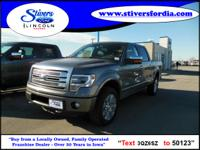 Must see this 2013 Ford F-150 Platinum!!! Keeping this