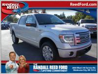 This is a great 2013 F-150 pickup Platinum. We're
