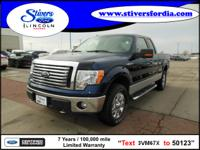 Must see this 2010 Ford F-150 XLT!!! This one comes