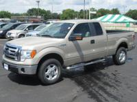 Low mileage F-150 extended cab 4x4. Factory installed