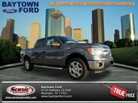 Take a look at this 2013 Ford F-150 XLT. This vehicle