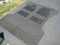 Heavy duty OEM rubber bed mat.; Very Good condition.