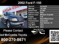 Call Red McCombs Toyota at . Stock #: 331541B. Year: