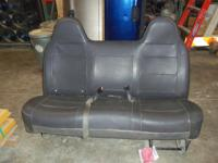 2002-2004 Ford F-150 Leather Bench Seat.  Charcoal