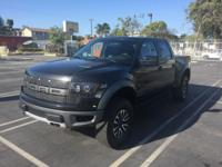 2012 Ford Raptor with 56,000 miles. Fully loaded. Black