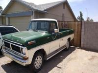 ARIZONA RUST FREE.1972 -F250- Ford Pickup TruckCustom