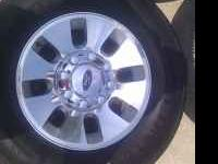 I have 4 factory aluminum wheels/rims and tires from a