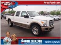 Set your sights on this white 2013 Ford F-250 Super
