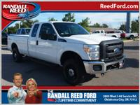 Set your sights on this white 2011 Ford F-250 Super