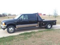 VERY CLEAN 1999 F-350 CREWCAB SUPERDUTY 4X4 DUALLY 7.3