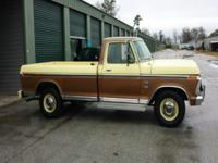 This outstanding, original low mileage 1973 Ford F-350