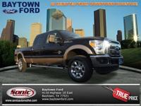 Take a look at this 2013 Ford F-350 Super Duty Lariat.