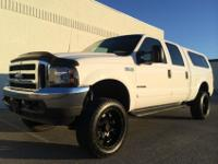 VERY CLEAN 2001 FORD F350 CREW CAB LARIAT 4X4 SHORTBED