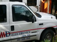 1999 Ford F350 4 Door Crew Cab Pick up Truck with