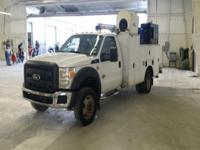 Super clean Ford F550 with a 6.7 Powerstroke diesel