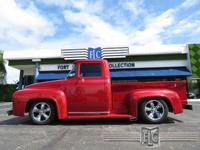This 1956 Ford F100 Resto Mod / Street Rod features a