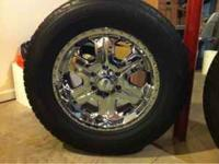 4 American Racing rims with Toyo Proxes S/T tires.